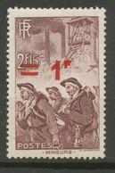 FRANCE - 1941 - Nr 489 - Neuf - Nuevos