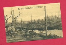 C.P. Diksmuide =  Oorlog 1914-1918 : Puinen  :  Canal D' HANDZAEME - Diksmuide