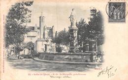 21-2420 :  VALLEE DE L'AUDE. NOTRE-DAME DE MARCEILLE PRES LIMOUX. CARTE PRECURSEUR. - Sonstige Gemeinden