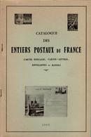 ACEP 1965 - Catalogue Des Entiers Postaux De France - Ganzsachen