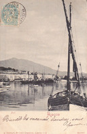 1905 .voyagée Algérie. 20 Corse Du Sud Ajaccio  Le Port Collection Guittard - Ajaccio