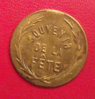 Jeton Souvenir De La Fête. République Française. - Other