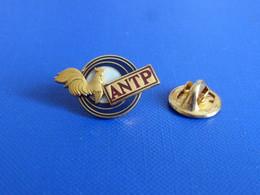 Pin's ANTP Association Nationale De Tir De La Police - Arme Pistolet Coq Sportif (KA14) - Polizia