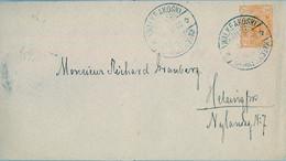 1900  SUOMI / FINLANDIA  ,  SOBRE ENTERO POSTAL CIRCULADO , WALKEAKOSKI - HELSINKI , LLEGADA - Covers & Documents