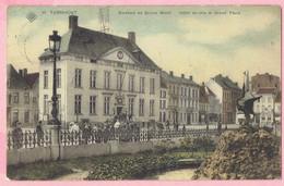 Turnhout - Stadhuis En Groote Markt - Hôtel De Ville Et Grand' Place- 1908 - Turnhout