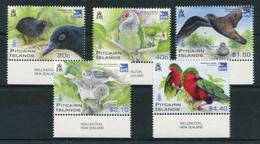 "Pitcairn - Mi.Nr. 831 / 835 - ""Vögel Der Henderson-Insel"" ** / MNH (aus Dem Jahr 2011) - Islas De Pitcairn"