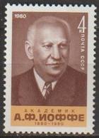 UdSSR 1980 MiNr.5007 ** Postfrisch 100.Geb. Abram Joffe ( R759) Günstige Versandkosten - Nuovi
