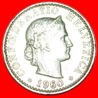 • LIBERTY (1939-2021): SWITZERLAND ★ 20 RAPPEN 1960B! LOW START★ NO RESERVE! - Svizzera