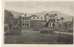 CPA, Trinitad , The Governors  Residence - Trinidad , B.W.I. ,Ed. M.M. - Trinidad
