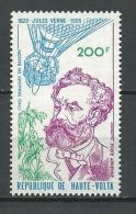 "Hte-Volta Aerien YT 224 (PA) "" Jules Verne "" 1978 Neuf** - Alto Volta (1958-1984)"