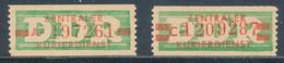 DDR Dienstmarken B 30/31 ** Mi. 27,- - Dienstpost
