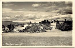FÜRSTENWALDE I/E, 1938, S/w AK Echtes Photo Gesamtansicht (Arno Tittel, Photograph, Geising I. Sa.), Rs. Selt. Steg-K2 - Storia Postale