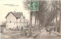 Dépt 77 - FAREMOUTIERS - Avenue De La Gare - (Édit. Fortuné, Tabacs) - Faremoutiers