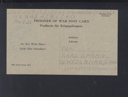 Kriegsgefangenen-PK PWE 26 US Zensur - Storia Postale