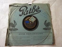 Disque 78 T Phonographe GRAMOPHONE Pathé - Lemercier - Maquis N°4760 - 78 G - Dischi Per Fonografi