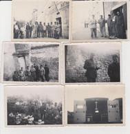 Lot De 6 Photos Originale Militaire  Hautes Alpes à Situé - Guerra, Militares