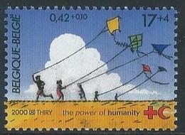 Z0319 - BELGIE - BELGIUM - 2000 - Nr 2895 - THE POWER OF HUMANITY - RODE KRUIS - CROIX ROUGE - RED CROSS - Unused Stamps