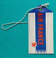 Etiquette Vintage Bagage AIR FRANCE Aviation 1956 - Etichette Da Viaggio E Targhette