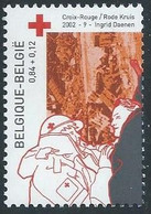 Z0321 - BELGIE - BELGIUM - 2002 - Nr 3072 - INGRID DAENEN - RODE KRUIS - CROIX ROUGE - RED CROSS - Unused Stamps