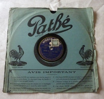 Disque 78 T Phonographe GRAMOPHONE Pathé - Marcelly ( Gaité-Rochechouart) N° 5065 - 78 G - Dischi Per Fonografi