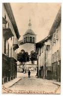 RUMILLY --1903-- L'église Et La Grande Rue (petite Animation )....carte Précurseur........à Saisir - Rumilly