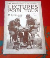 WW1 Lecture Pour Tous Décembre 1915 Marsouins Au Feu En Champagne Saint Jean Tahure,Objets Fabriques Par Les Poilus - 1900 - 1949