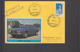 2021_23_sport Car Automobilismo Italia Sanremo Imperia Rally 1978 Racing Car Race Trophy - Cars