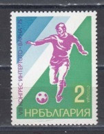 Bulgaria 1975 - Football Intertoto Congress, Mi-nr. 2435, MNH** - Ungebraucht