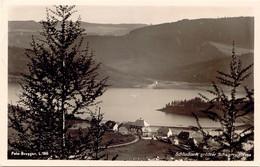 """SCHLUCHSEE, 1939, S/w AK Ortschaft Mit See, Rs. K2 """"SCHLUCHSEE"""", TOP-Erhaltung (Erhaltung 5 Von 5 Sternen) - Baden"""