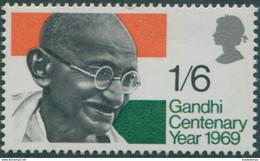 Great Britain 1969 SG807 1/6d QEII Gandhi MNH - Ongebruikt