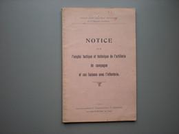 Artillerie - Infanterie - Tactique - Militaire - Ducarme - Zonder Classificatie
