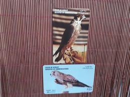 Birds 2 Phonecards Used   Rare - Otros