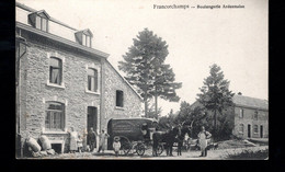 850-FRANCORCHAMPS-boulangerie Ardennaise-attelage Boulanger - Stavelot