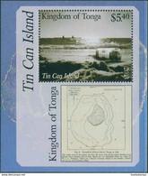 Tonga 2013 SG1702 Tin Can Island MS MNH - Tonga (1970-...)