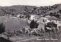 MARINA DI PIOPPI - POLLICA - SALERNO - PANORAMA - CARTELLO STRADALE D'INGRESSO -ANNULLO AMBULANTE SAPRI/SALERNO T.9-1962 - Salerno