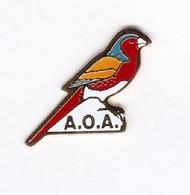 Pin's Animaux Oiseaux AOA - Animali