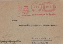 Francotyp A - Fraenkel & Landau Insulin Vertrieb Chemie Grosshandel Berlin Oberschönweide - Briefstück - Pharmacy