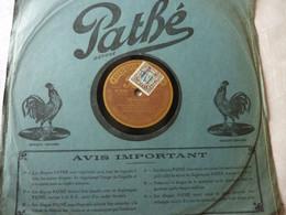 Disque 78 T Phonographe GRAMOPHONE Pathé - Garde Républicaine - César Bourgeois N° 6702 - 78 G - Dischi Per Fonografi