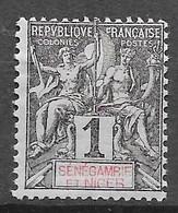 1903 : Légende En Rouge Ou En Rose. N°1 Chez YT. (Voir Commentaires) - Unused Stamps