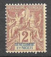 1903 : Légende En Rouge Ou En Rose. N°2 Chez YT. (Voir Commentaires) - Unused Stamps
