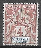 1903 : Légende En Rouge Ou En Rose. N°3 Chez YT. (Voir Commentaires) - Nuovi