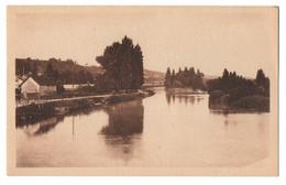 CPA, MONTRICHARD, (41), Le Cher Pris Du Pont En Amont, écrite, Non Timbréee - Montrichard