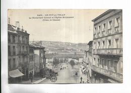 43 - LE PUY-en-VELAY. Le Boulevard Carnot Et L' église St-Laurent ( Côteau De Chosson ) - Le Puy En Velay