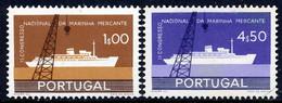 !■■■■■ds■■ Portugal 1958 AF#841-842 ** Cargo Ship Complete Set (SALE) - Sin Clasificación
