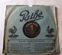 Disque 78 T Phonographe GRAMOPHONE Pathé - Dranem De L'Eldorado N° 6374 - 78 G - Dischi Per Fonografi