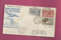 Lettre De 1940 Pour Les EUAN. YT N° 146, 174 Et PA 40 - Exposition Internationale De New York - Storia Postale