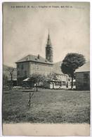 LA BRIOLE (B. A.) __ L'église Et L'école. Alt. 876 M. - Sin Clasificación