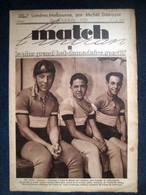MATCH Intran 429 SPORT CYCLISME Vel'd'Hiv AUTOMOBILE G.P. Alger Wimille FOOTBALL RUGBY 1934 - Zonder Classificatie