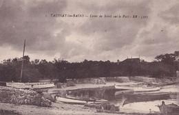 Y14-33) TAUSSAT LES BAINS (GIRONDE) LEVER DE SOLEIL SUR LE PORT - ( 2 SCANS ) - Altri Comuni