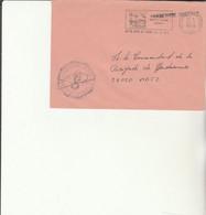 Z1 - Enveloppe   Gendarmerie NOTRE DAME DE LIESSE  -    En Franchise - - Bolli Militari A Partire Dal 1940 (fuori Dal Periodo Di Guerra)